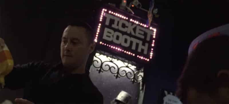 Man at ticket booth at Lockdown Ottawa escape rooms