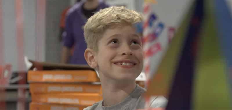 Boy smiling at Lockdown Ottawa escape room